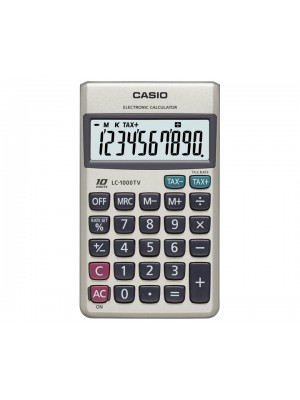 Calculatrice casio LC-1000TV