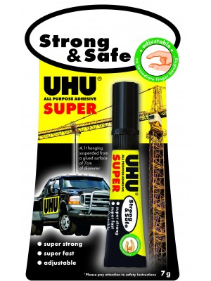 Colle UHU Strong et safe 7g