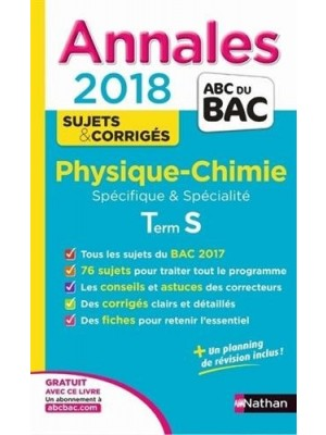 Annales bac physique-chimie 2 bac inter PC