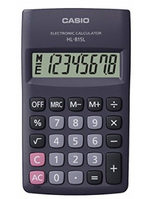 Calculatrice Casio HL-815L-BK