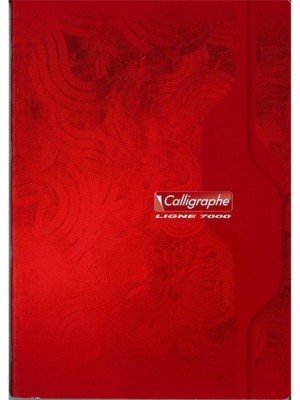 Cahier 140pages /Grand Format 21*29.7/Grands Carreaux /70g