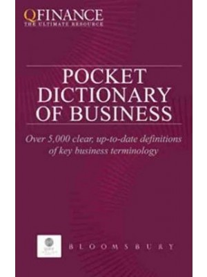 The Pocket Dictionary of Business -QFINANCE