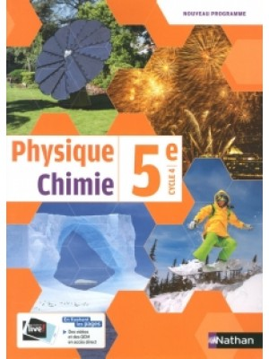 Physique chimie 5e Cycle 4 2017