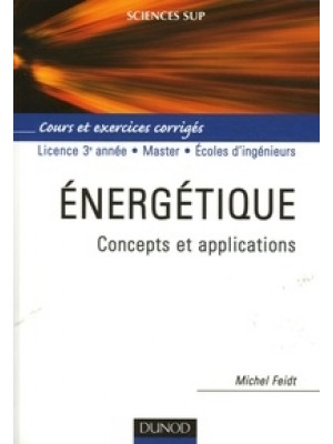 Energétique - Concepts et applications