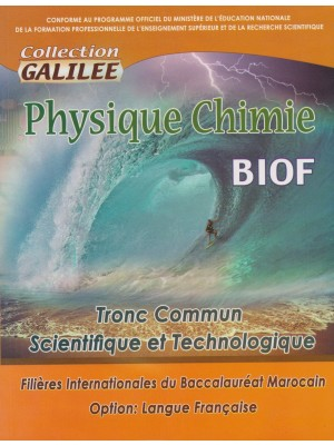 Physique chimie TC Bac inter Galilée 2017