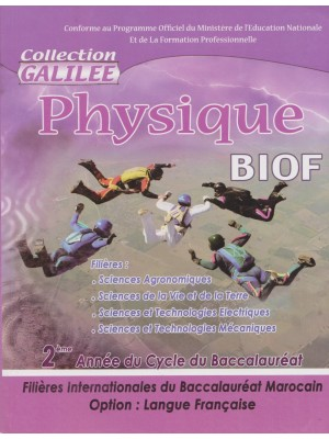 Physique 2 Bac inter BIOF Galilee SVT 2016