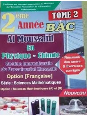 Al moussaid en physique chimie 2 Bac inter SVT T2
