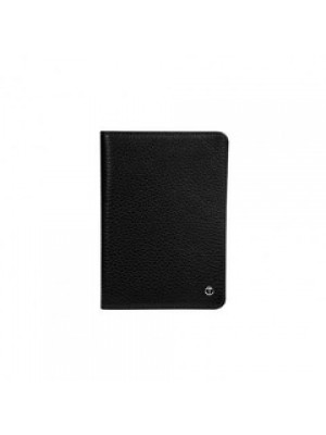 ETUI PASSPORT SOFT CUIR NOIR DR 4207-1