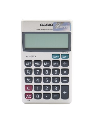 Calculatrice Casio LC-403TV
