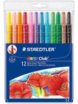 12 Crayons Couleur Cire  221NWP12