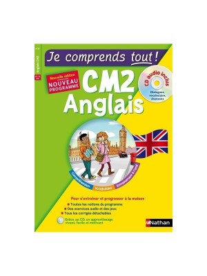 Je comprends tout anglais CM2 +CD