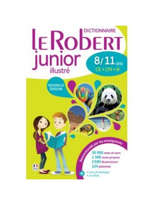 Le robert junior illustré 8/11ans
