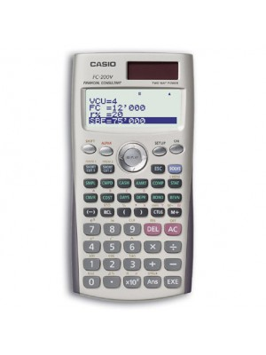 Calculatrice Casio financial FC- 200V