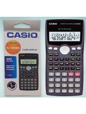 Calculatrice casio fx-100MS 2-line display