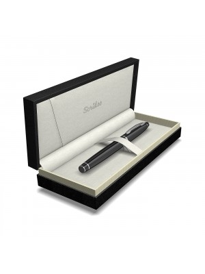 NOBLE 35 STYLO-PLUME CHROME NOİR