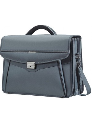 Cartable briefcase 3 poches gris Samsonite 50D*08003