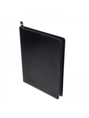 POCHETTE TABLET OXFORD CUIR NOIR SD500-1