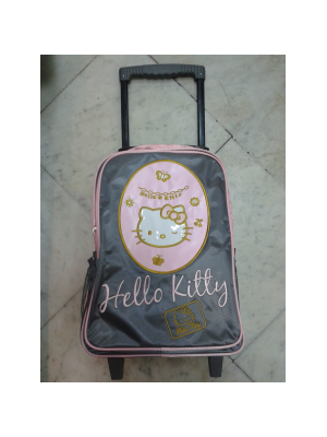 Sac à roulettes trolley Hello Kitty 22017
