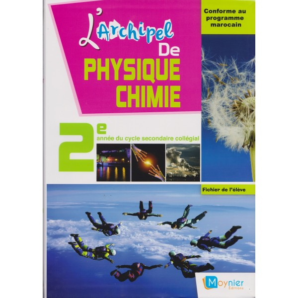 L Archipel De Physique Chimie 2e Annee College Apm 2016