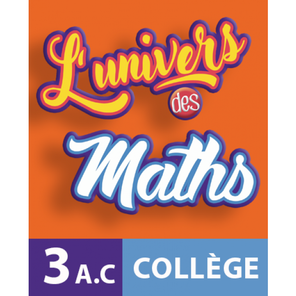 L Univers Des Maths 3eme College Apm
